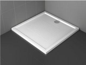Sprchová vanička Novellini New olympic - výška 4,5 cm 100 x 80