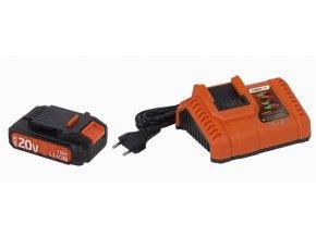 POWDP9060 - Nabíječka 20V/40V plus Baterie 20V LI-ION 1,5Ah