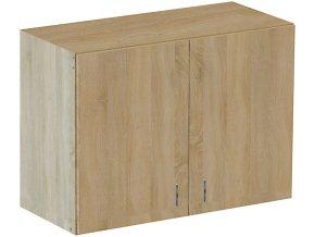 Kuchyňská skříňka horní závěsná dub 80cm | czkoupelna