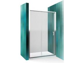 Sprchové dveře posuvné - LLD2/140 cm | czkoupelna.cz