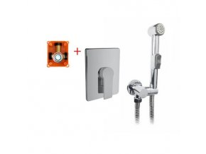 CBE60105DBS Baterie podomítková s bidetovou sprchou, Dita
