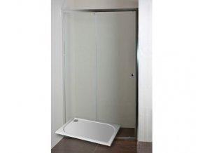 ONYX 120 NEW Sprchové dveře do niky s vaničkou POLARIS 1280S | czkoupelna.cz
