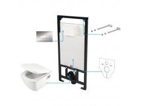 Amsterdam S6W Podomítkový WC set | czkoupelna
