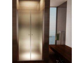 Komfort T2 100 - sprchové dvoukřídlé dveře 96-101 cm   czkoupelna.cz