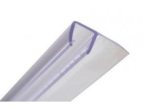 Stírací lišta silikonová boční 193cm, na sprchové dveře 5 mm - sada 2 ks | czkoupelna.cz