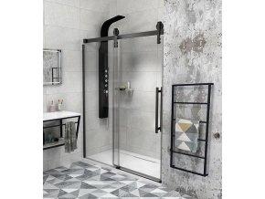 Sprchové dveře GELCO VOLCANO 1200 mm čiré sklo - GV1412 | czkoupelna.cz