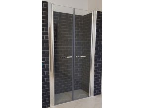 Premium 116-121 cm čiré sklo 6 mm - Sprchové dveře do niky | czkoupelna.cz
