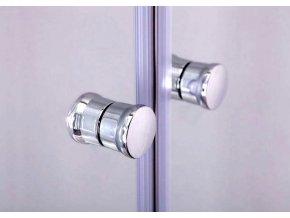 Komfort T2 125 - sprchové dvoukřídlé dveře 121-126 cm  czkoupelna