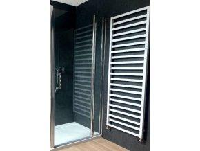 ROSS Luxury 90x190cm - jednokřídlé sprchové dveře 86-91 cm   czkoupelna.cz