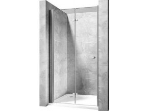 Best of 80x190 cm, sklo čiré 6 mm, sprchové dveře zalamovací | czkoupelna.cz