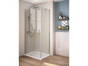 Perfekt 80x80 cm - čtvercový sprchový kout | czkoupelna.cz