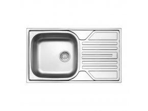 Kuchyňský nerezový dřez Lugano 3113 | czkoupelna.cz
