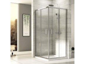 Čtvercový sprchový kout ROSS Comfort 80 | czkoupelna.cz