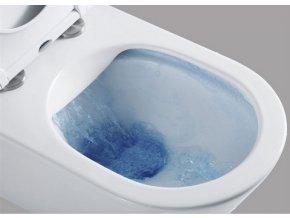WC závěsné kapotované, RIMLESS, 490x370x360, keramické, včetně wc sedátka novinka