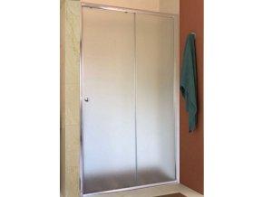 Posuvné sprchové dveře ROSS Relax 115, grape sklo 6 mm   czkoupelna.cz