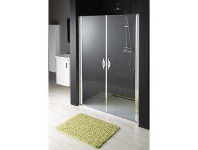Sprchové dvoukřídlé dveře do niky řady ONE 80 GO2880 | czkoupelna.cz