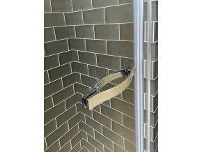 Premium R1 100 - jednokřídlé sprchové dveře 96-101 cm | czkoupelna.cz