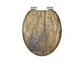 Duroplastové sedátko Solid Wood  se zpomalovacím mechanismem SOFT-CLOSE   czkoupelna.cz