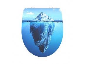 Duroplastové sedátko Iceberg 82579 se zpomalovacím mechanismem SOFT-CLOSE | czkoupelna.cz