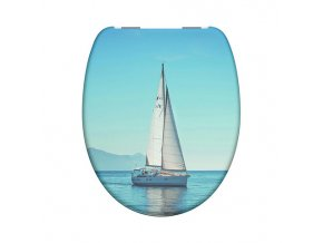 WC prkénko Duroplast Soft Close Sailing 82148 | czkoupelna.cz