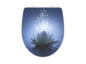 WC prkénko Duroplast Soft Close Water Lily High Gloss 82582 | czkoupelna.cz