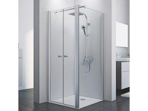 Čtvercový sprchový kout ROSS Comfort kombi 100 x 100 cm   czkoupelna.cz