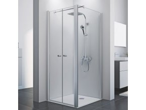Čtvercový sprchový kout ROSS Comfort kombi 90 x 90 cm | czkoupelna.cz