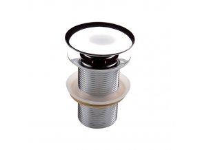 Click-Clack 010A Umyvadlová výpusť kruhová bez přepadu | czkoupelna