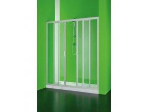 Sprchové dveře Maestro centrale 140–130 × 185 cm (Výplň čiré)