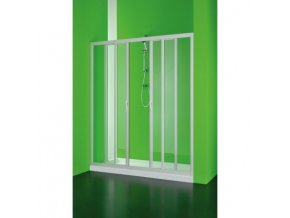 Sprchové dveře Maestro centrale 160–150 × 185 cm (Výplň čiré)
