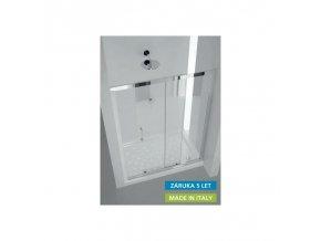 Sprchové dveře HOPA MAYA 122–130 × 190 cm (Výplň frost)