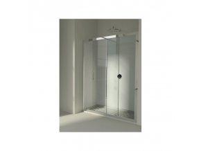 Sprchové dveře HOPA MAYA 131–139 × 190 cm (Výplň frost)