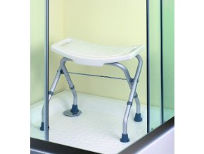 Stolička koupelnová skládací - ALU + nylon