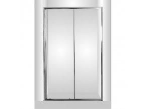 Sprchové dveře do niky ROSS - 120 x 190 cm | czkoupelna.cz