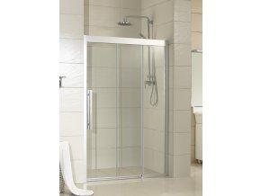 3-dílné posuvné sprchové dveře Martos 110x195 cm