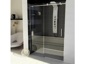 DRAGON sprchové dveře 1200mm, čiré sklo (4612)