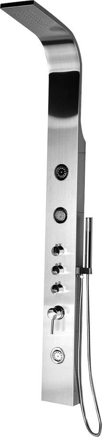 SAPHO AIKO sprchový hydromasážní panel 155x1630mm, nerez