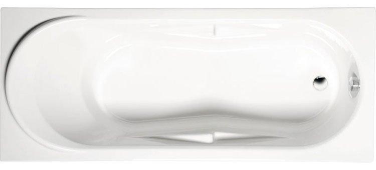 Polysan ADRIANA obdélníková vana s podstavcem 180x74x45cm, bílá