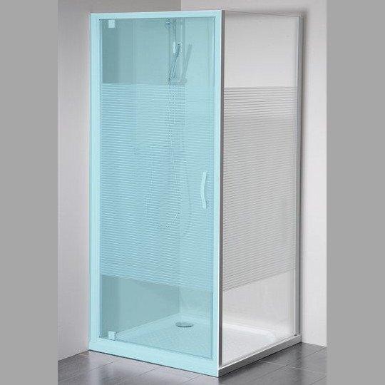 Gelco ETERNO boční stěna 800mm, sklo STRIP
