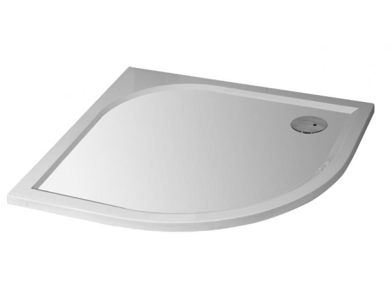 Arttec STONE 9090R - sprchová vanička čtvrtkruhová pravý odpad