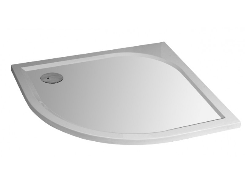 Arttec STONE 9090R - L sprchová vanička čtvrtkruhová levý odpad