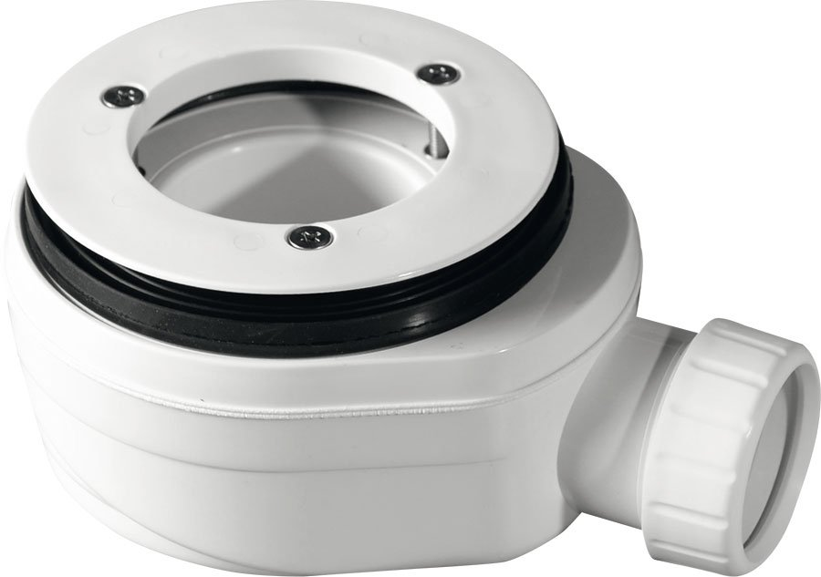 GELCO vaničkový sifon, průměr otvoru 90 mm, DN40, nízký, pro IRENA