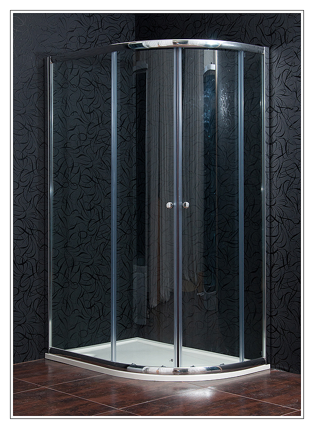 Arttec KLASIK NEW 80 x 120 cm, sprchový kout levý, čiré sklo + vanička litý mramor