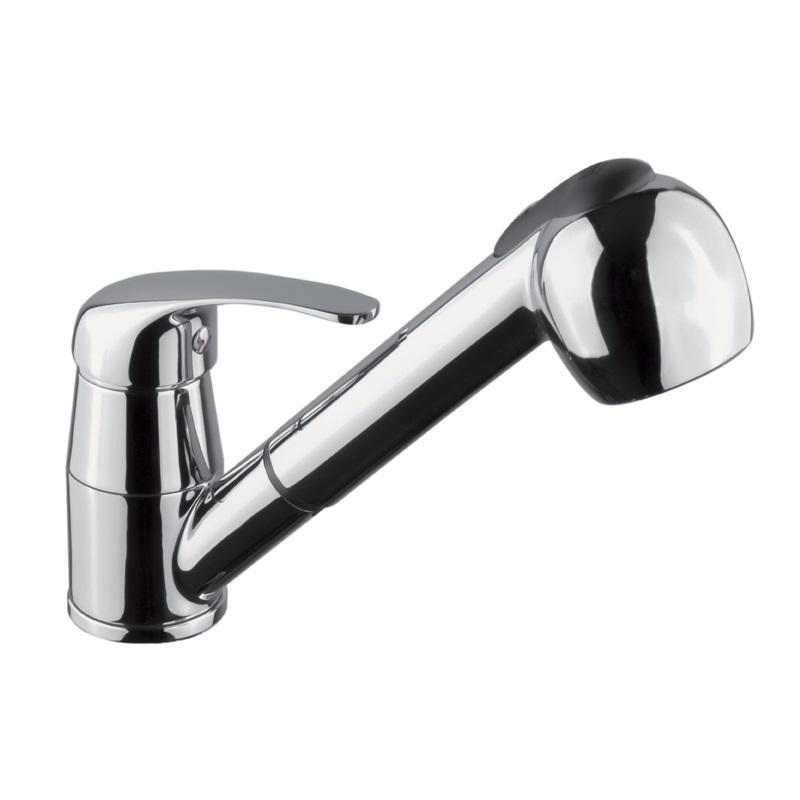 Mereo Lila dřezová baterie stojánková s výsuvnou sprchou