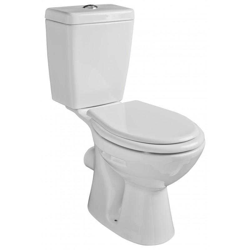 Olsen Spa WC kombi CARMINA - zadní odpad - Bez sedátka