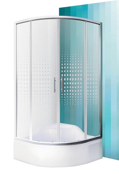 Roltechnik Sprchový kout BUFFALO NEO 90 x 90 x 207 cm s vaničkou SEMIDEEP NEO