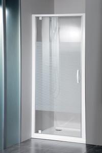 GELCO Sprchové dveře ETERNO 90 cm sklo STRIP