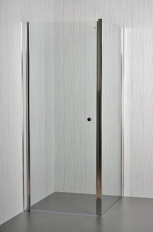 Arttec sprchové dveře MOON a SALOON P-50 chrome CLEAR - pevná boční stěna pro sprchové dveře 80 cm