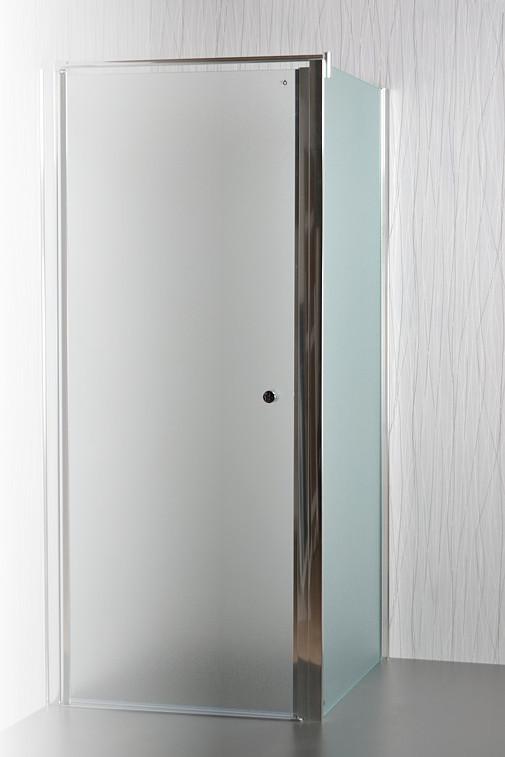 Arttec sprchové dveře MOON a SALOON P-50 chrome GRAPE NEW - pevná boční stěna pro sprchové dveře 90 cm