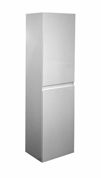 A-interiéry Koupelnová skříňka doplňková vysoká Brunette V 40